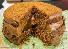 torta cioccolato, gluten free, carruba, vegana