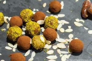 truffles, pistacchi