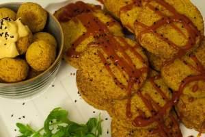 gluten free, senza glutine, quinoa, polpette, burgers, ragù di lenticchie, curcuma, lievito a scaglie, lenticchie, pomodoro, brodo vegetale, cucinare, ricette, secondi piatti, blog, facile, vegan